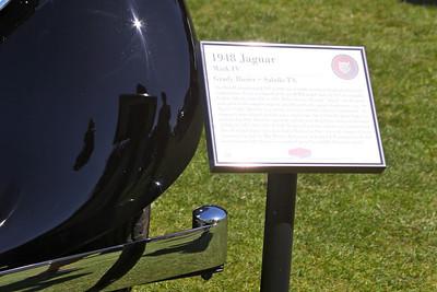 "2010 Hillsborough Concours d""Elegance, Crystal Springs Gold Club Sept 12th 2010 Grady Rosier's 1948 Jaguar Mark IV"