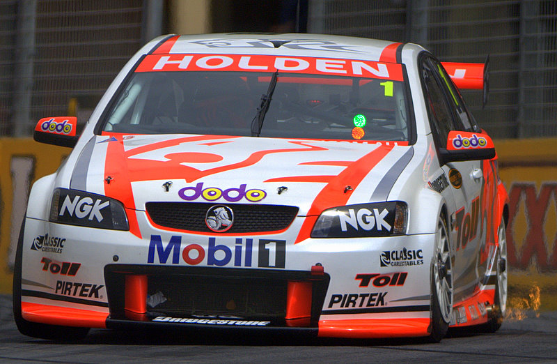 Garth Tander, #1 - Toll Holden Racing Team Holden Commodore VE
