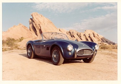 AC Shelby 289 Cobra CSX 2160. First owner Vic Damone