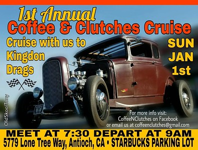 2017 Coffee N Clutches Flyers