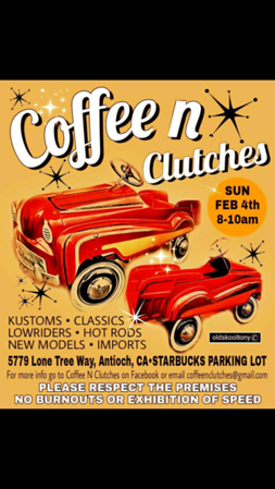 2018 Coffee N Clutches Flyers