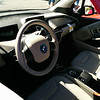 Interior of the BMW i3.