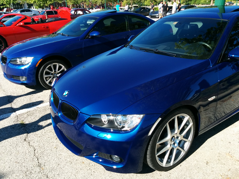 A couple of BMW 335i's.