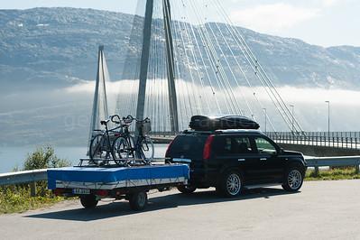 Sommerferie  med CombiCamp i Nord-Norge 2011