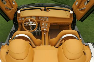 Spyker C12 LaTurbie interior