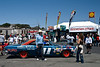 Laurence Auriana proudly presents his 1967 Ford Farlane at Laguna Seca.