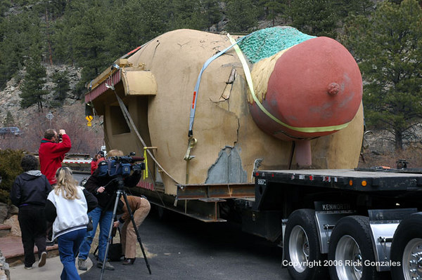 Local, Denver and The History Channel media were on hand. This is big news!