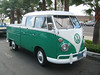 Cool old VW combi.