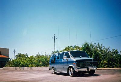 85 chevy van
