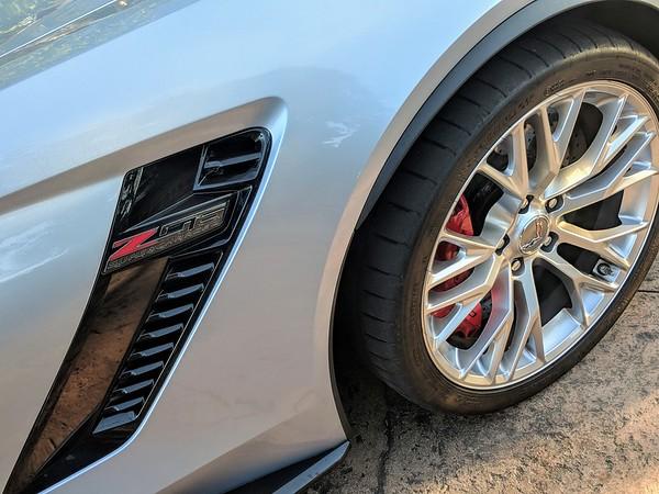 Corvette C7 Z06 supercharged