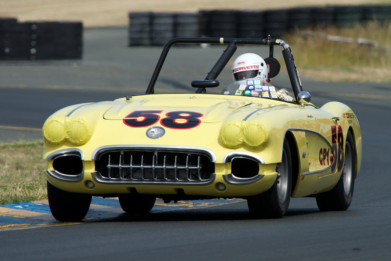 1958 283 fuelie, built & raced by Noel Park, JD Corvette.  Monterey Historics (GRL), HMSA, CSRG log books.  Very fast.<br /> $ 95,000 incl lots of spares<br /> Ed Hugo<br /> ehugo@hugoparker.com<br /> 415-341-4965