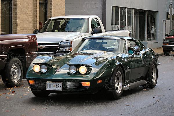 Bill's 1973 Corvette from the Bel Air Corvette Club.