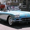 "1960 Corvette Convertible<br /> Price range for this car new was $3800.00.<br /> (only 10,261 were made). Believe the color is called Tasco Turquoise.  Made poplular on the show ""Route 66"""