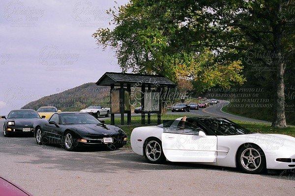 Overlook with Corvettes