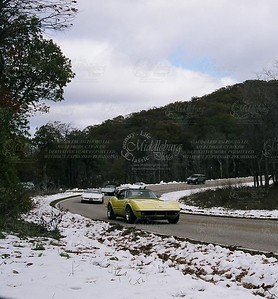 Snow and Corvettes