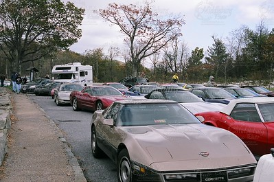 Corvette Parking Lot!
