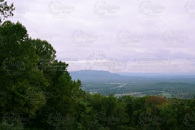 One of the many Overlooks on Skyline Drive.