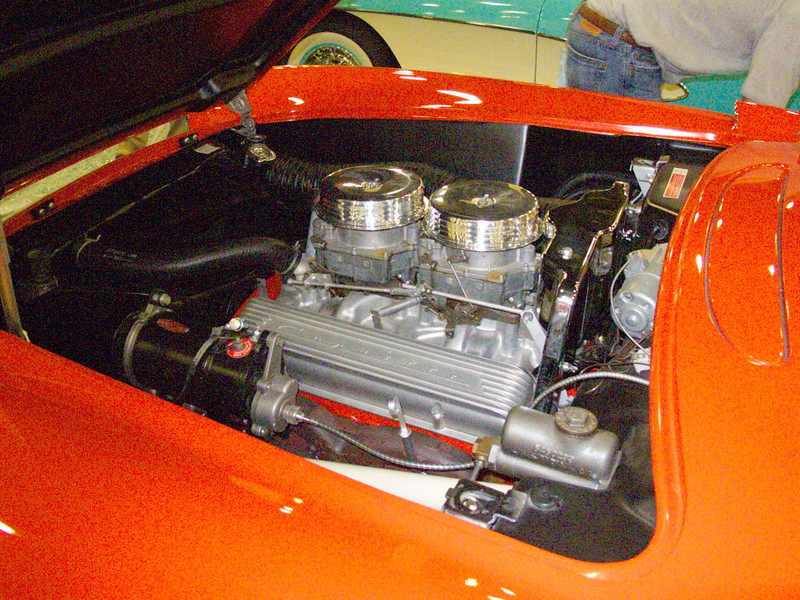 Early model Corvettes from the 1950-60 time frame.  All restored and presented at a NCRS meet in July 2012.