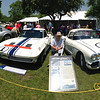 John Justo at Greenwich Concours