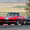 Richard Orme's 1963 Corvette in turn two.