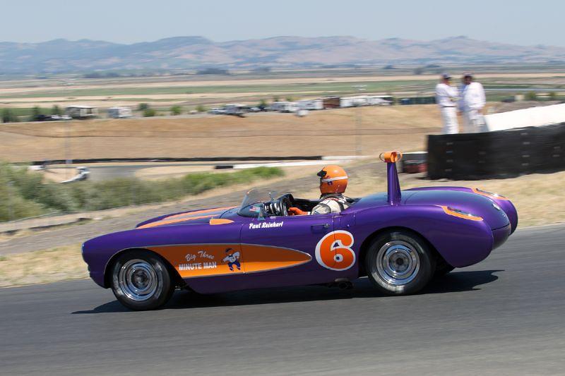 Paul Reinhart's 1957 Corvette in four.