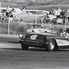 # 6 - 1959, Paul Reinhart at Del Mar chased by Don Wester, Porsche 356 roadster