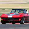 Richard Orme's 1963 Corvette in two.