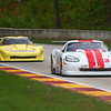 # 3 - 2013, SCCA GT1, Kyle Kelley being lapped by # 87 Doug Peterson