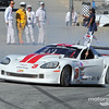 Kyle Kelley celebrates victory in GT1 with a burnout in corner 5.<br /> 2014 SCCA RunOffs<br /> Mazda Speedway Laguna Seca<br /> Monterey, California, USA<br /> ©2014 Rupert Berrington