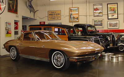 1963 Corvette split window coupe.