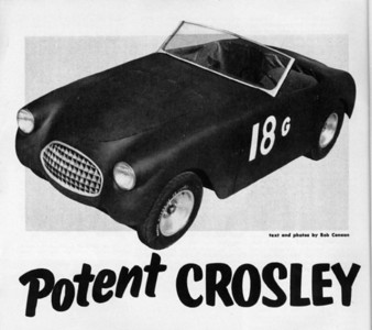 Crosley Special - Period Photos