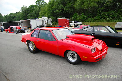 Heath Littrell's Chevy Monza 6.0 index car.