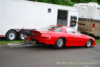 Rick Weatherbee's Camaro that runs in the Pro Street Bounty Race class. This was previously Steve Kirk's racecar.