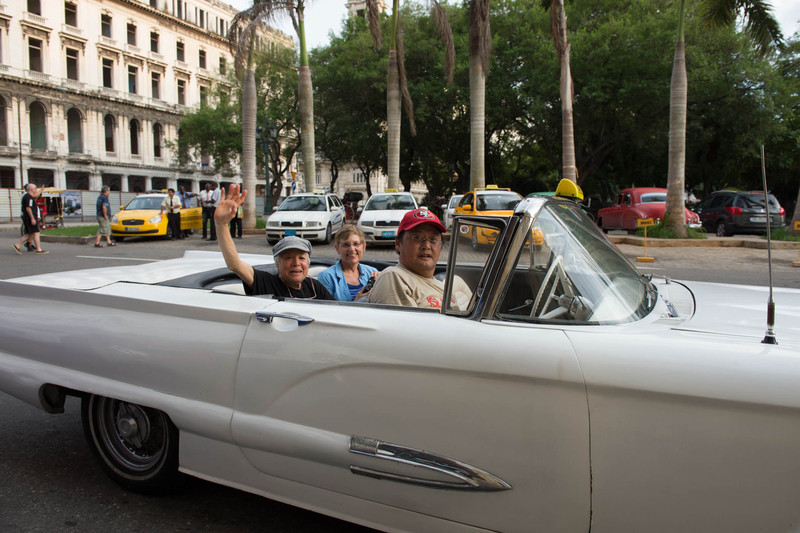 Photo credit: Mark Grantham<br /> <br /> 1959 Thunderbird- 85% original; the owner bought the car five years ago for 15,000 CUC. He can get 30,000 CUC today but will not sell it. CUC is equal to US dollar.