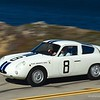 1961 Fiat-Abarth 1000 Bialbero Competition Coupe, ex-Bruce McLaren Briggs Cunningham Team - Sebring 3-Hours winner / 2015 Pebble Beach tour (Photo credit: Sports Car Digest.com)