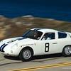 1961 Fiat-Abarth 1000 Bialbero Competition Coupe, ex-Bruce McLaren Briggs Cunningham Team - Sebring 3-Hours winner / 2015 Pebble Beach tour (Photo credit: Sports Car Digest.com)