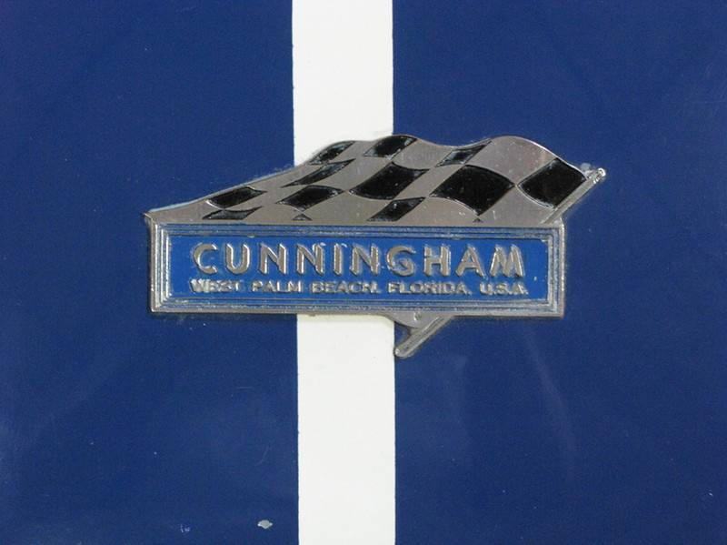 Cunningham C4R #5217 owned by Simeone Museum (Photo credit: Simeone Museum)