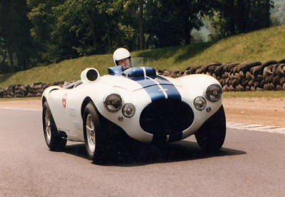 C4RC Prototype (later C4RC R5222). 1997 factory testing with Phil Walters at the wheel.