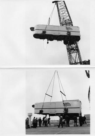 Cunningham transporter to Le Mans 1955
