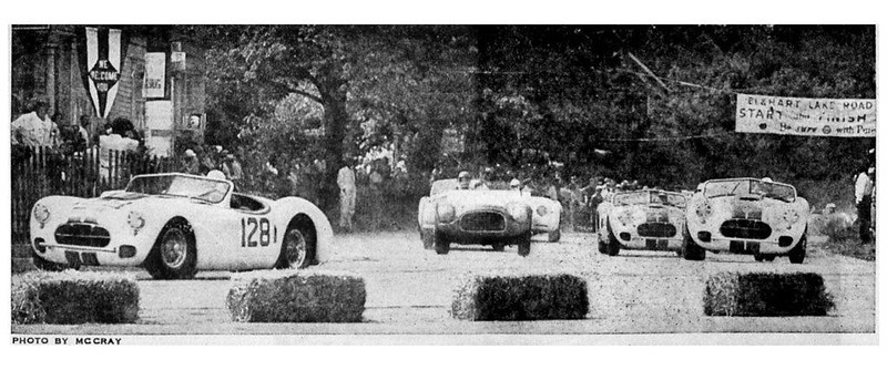 1951 Elkhart Lake Race (Photo by McCray)