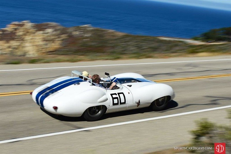 1959 Lister Costin at 2015 Pebble Beach Tour (Photo credit: Sports Car Digest)