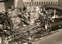 Cunningham Chrysler Hemi engine
