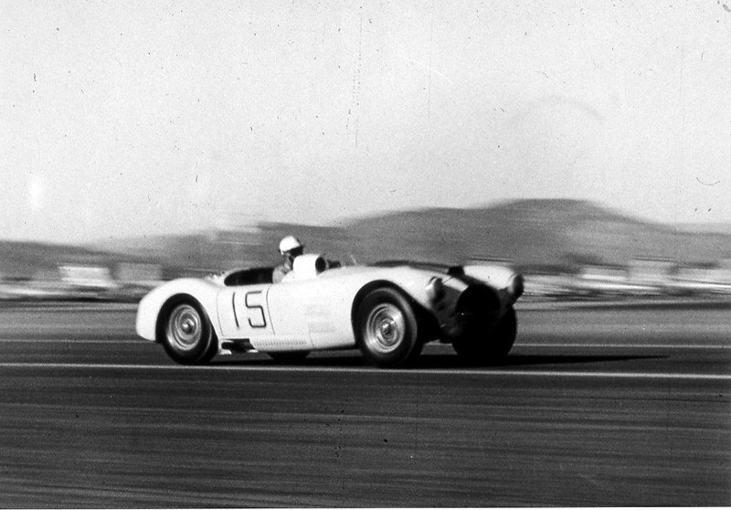 March 1953, John Fitch in #15 at AFB
