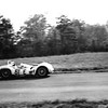 Maserati Birdcage at Virginia Int'l. Raceway April, 1961 with B.S. Cunningham driving (Photo credit: Mike Rembold)