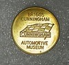 Briggs Cunningham Automotive Museum token (Photo credit: Unknown at this time)