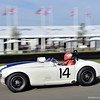 C4R Replica #5238 – Ben Shuckburgh at 2015 Goodwood Festival (Photo credit: Tim Scott – Sports Car Digest)