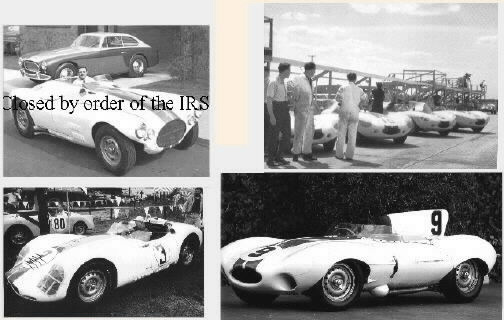 In 1956 the IRS noted that Cunningham Motors had consistently failed not only to win Le Mans, but to make profits. They declared it a hobby rather than a business, and closed it down. Just as this was playing out, Sir William Lyons of Jaguar, sensing that he could eliminate a nagging challenge, invited Cunningham to close shop and join Jaguar. A combination of pull and push left Cunningham with little choice but to become the Jaguar distributor for the US East Coast. And so he became a car dealer, and can be credited with much of Jaguar's marketing success in this area during the 50's and 60's. As a reward, Jaguar gave him the newest and best D-Types for his racing stable. By this time the team included master mechanic Alfred Momo and a who's who of 1950's race drivers, including the fast and furious Walt Hansgen. The Cunningham team travelled up and down the East coast, showing them how it was done.