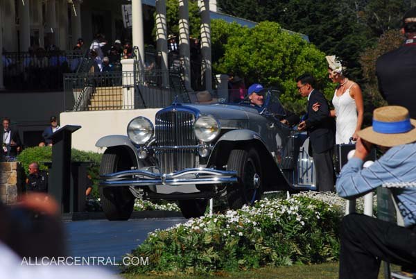 "Duesenberg 1935 Briggs Cunningham Trophy, Pebble Beach Concours Winners, 2007 (Source: <a href=""http://allcarcentral.com/duesenberg_pix-2.html"">http://allcarcentral.com/duesenberg_pix-2.html</a>)"