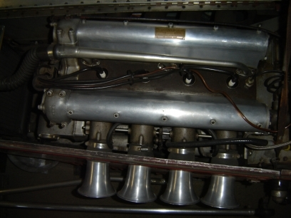 "The Cunningham Offenhauser engine as it looks today in the Marty Himes racing museum. (Marty Himes Collection Photo) (Source:  <a href=""http://www.nationalspeedsportnews.com"">http://www.nationalspeedsportnews.com</a>)"