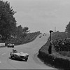 24 Hours of Le Mans, 1955. Number 9 Phil Walters/Bill Spear's Briggs Cunningham-entered Jaguar D-Type chassis 'XKD507', retired - Number 8 Don Beauman/Norman Dewis' works Jaguar D-Type chassis 'XKD508', retired (accident). (Photo credit: Rudolfo Mailander Photograph Collection, Revs Institute)
